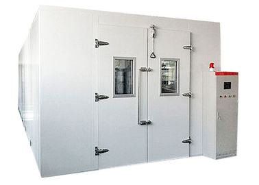 Large Size Walk In Environmental Chamber , Climatic Test Chamber Temp Control -40℃ To 80℃